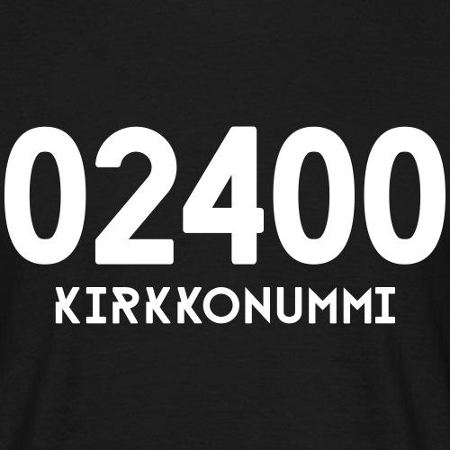02400 KIRKKONUMMI - Miesten t-paita