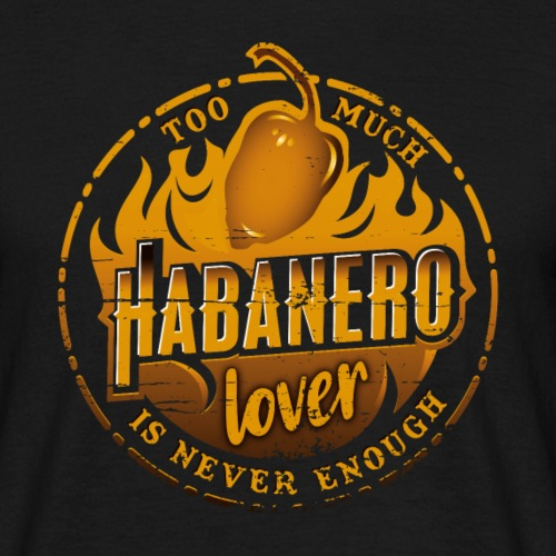 Habanero Chili Lover - Männer T-Shirt