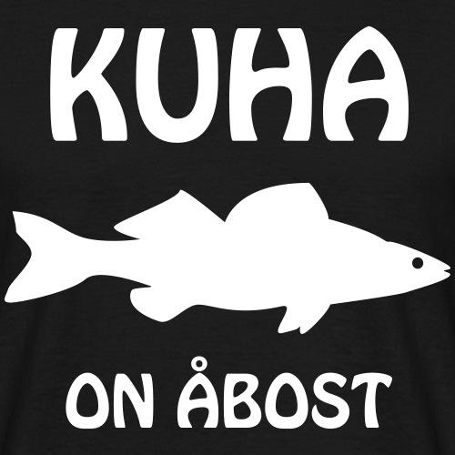 KUHA ON ÅBOST - Miesten t-paita
