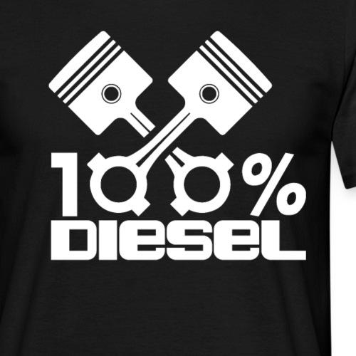 100% Diesel I Dieselholics - Männer T-Shirt