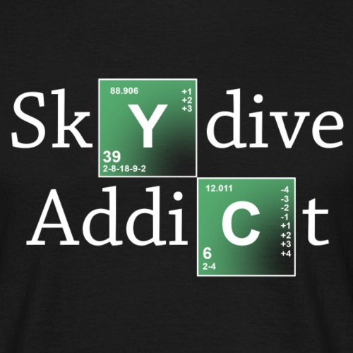 Skydive Addict style - T-shirt Homme