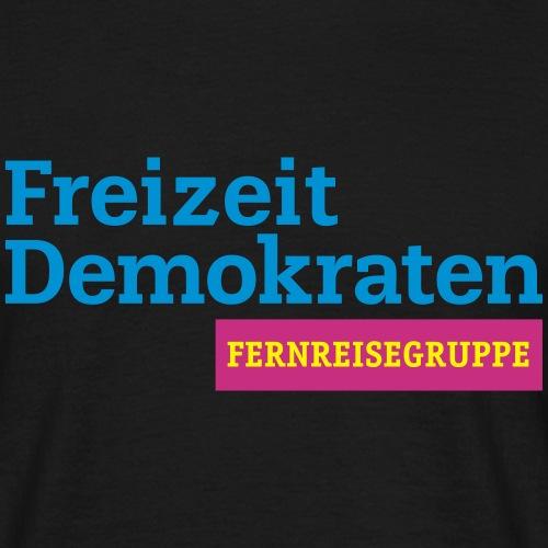 Freizeitdemokraten - Männer T-Shirt
