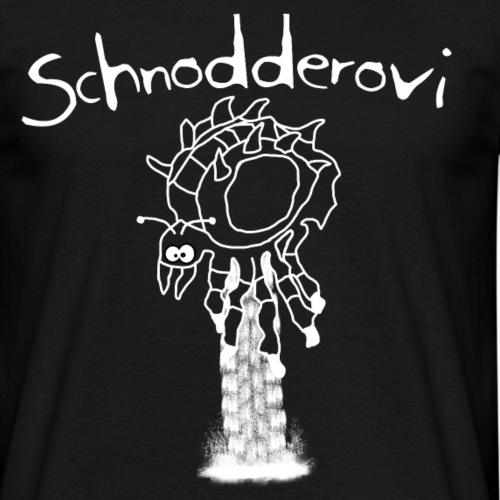 Schnodderovi weiß - Männer T-Shirt