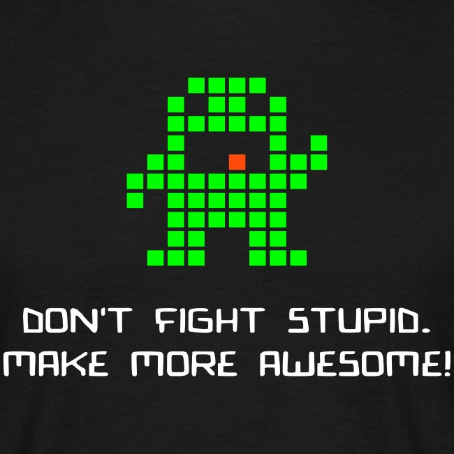 dontfightstupid med text