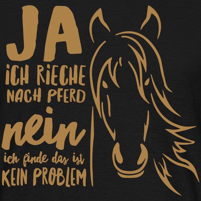 Vorschau: ja ich rieche nach Pferd - Männer T-Shirt