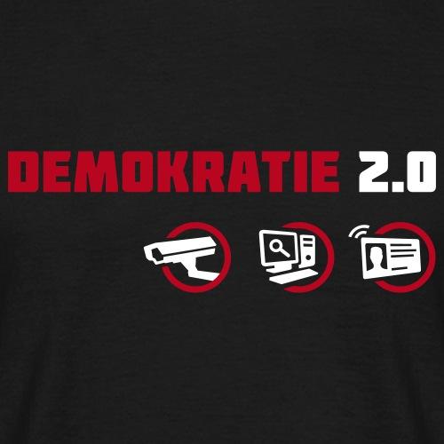 Demokratie 2.0 - Men's T-Shirt