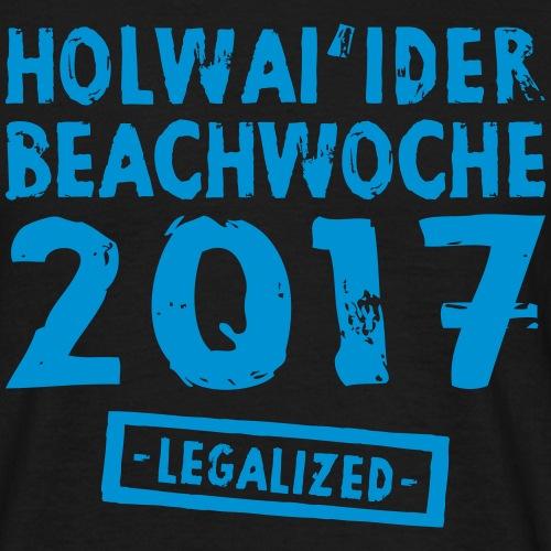 Holwai'ider Beachwoche 17 - Männer T-Shirt