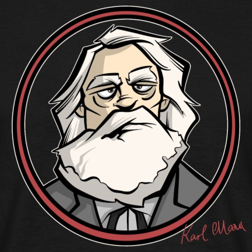 Karl Marx - Männer T-Shirt