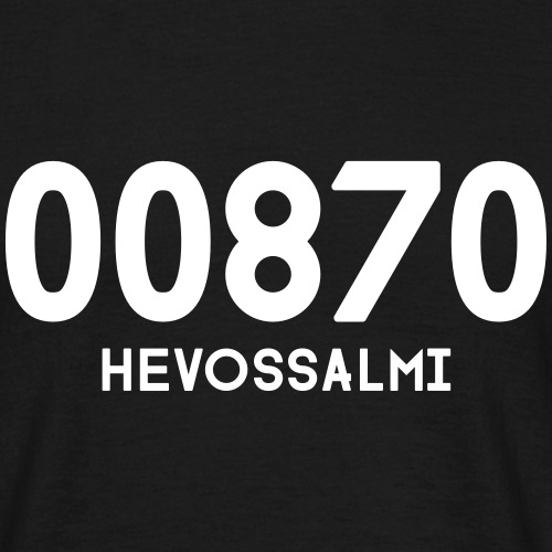 00870_HEVOSSALMI - Miesten t-paita