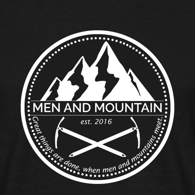Men and Mountain - Original Logo