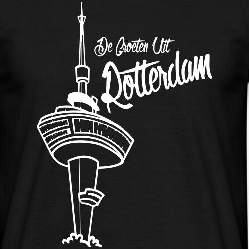 groeten_uit_rotterdam - Mannen T-shirt