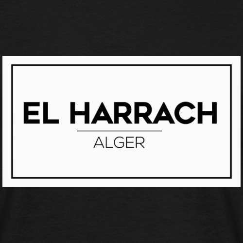 El Harrach Alger - T-shirt Homme