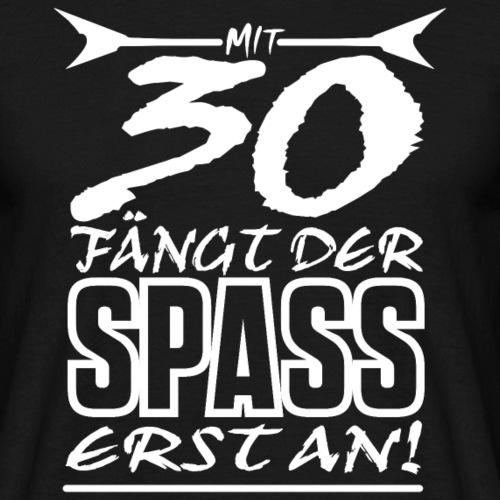 30 Geburtstag Rocker 1988 Shirt Geschenk Idee - Männer T-Shirt