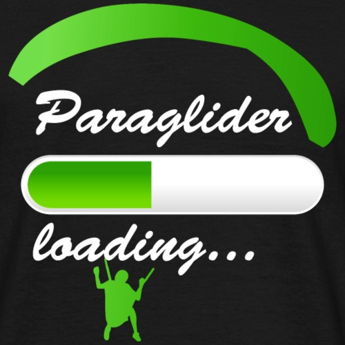 Paraglider Loading - Männer T-Shirt