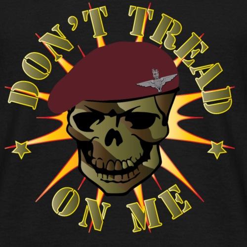 Parachute Regiment Don t Tread On Me - Mannen T-shirt