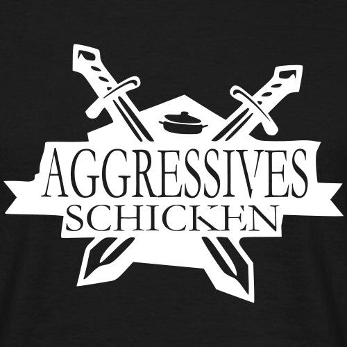 schicken schild - Männer T-Shirt