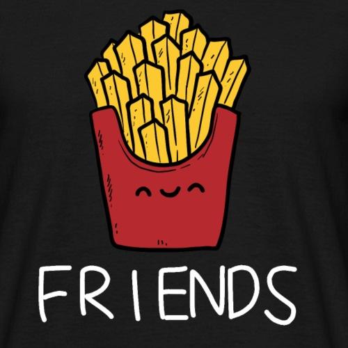 Burger und Pommes Best Friends Partnerlook