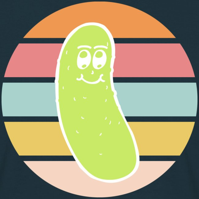Vintage Colored Pickle #4