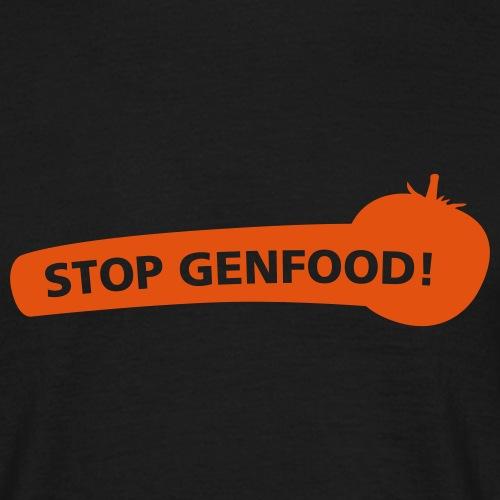 stopgenfood - Men's T-Shirt
