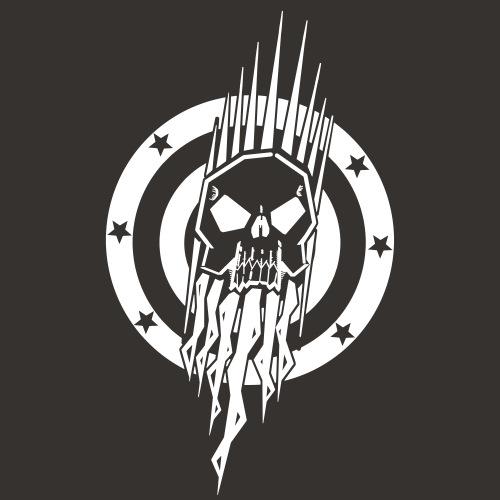 Captain Target Vector - Männer T-Shirt