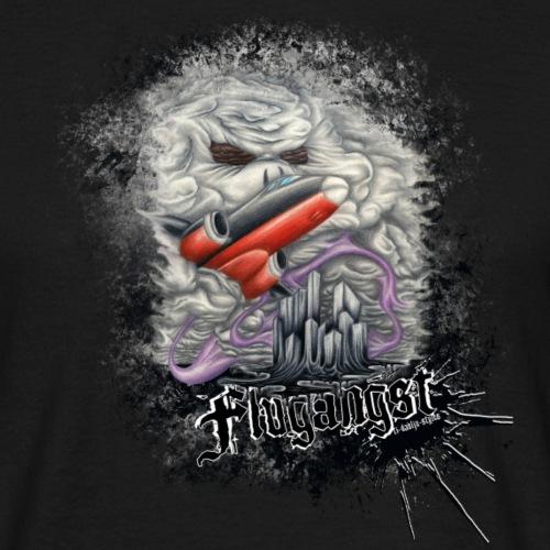 Flugangst - Männer T-Shirt