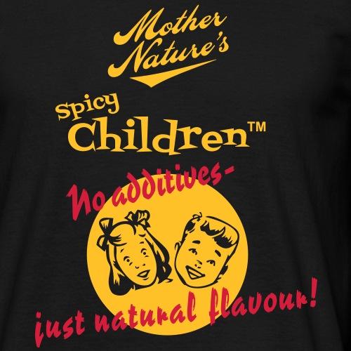 Spicy Children - Männer T-Shirt