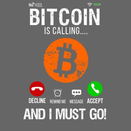 Bitcoin Ringer Mig Nu Så Jag Måste Gå Nu!