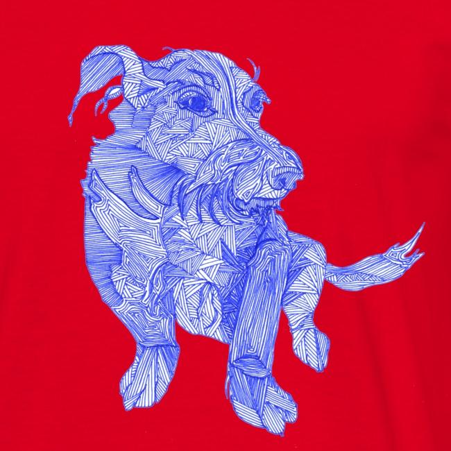Das ist wohl ein chinesischer Drachen - Hund