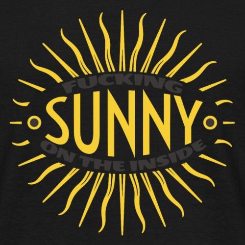 Sunny Inside - Men's T-Shirt