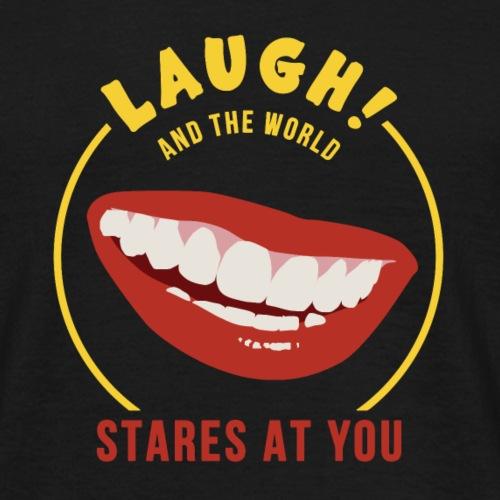 S/He Who Laughs - Men's T-Shirt