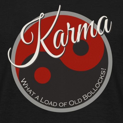Karma B*llocks - Men's T-Shirt