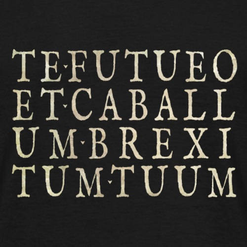 TE•FUTUEO - Men's T-Shirt
