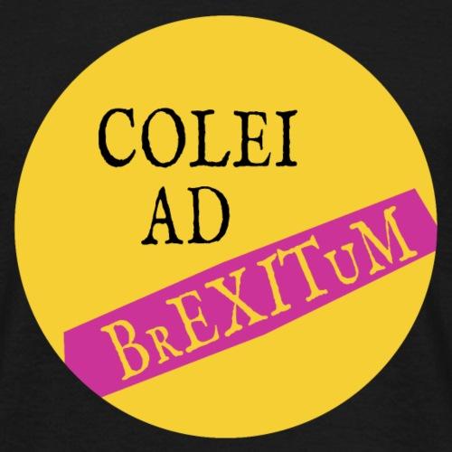 Colei Ad Brexitum - Men's T-Shirt