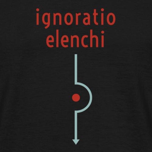 Ignoratio Elenchi - Men's T-Shirt