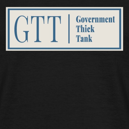 Government Thick Tank - Men's T-Shirt