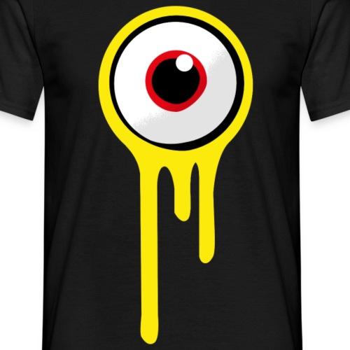 A&B • Eyeball (1 print: front / back) - Miesten t-paita