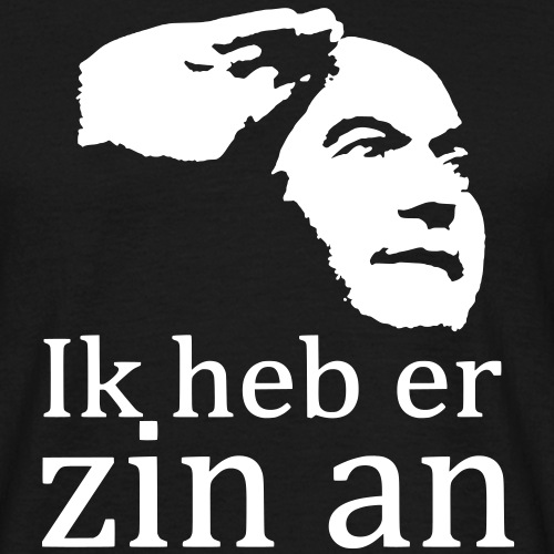 zin an - Mannen T-shirt