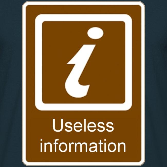Useless Information Large