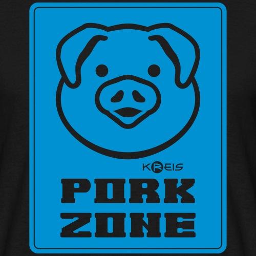 Pork Zone a1 _ byTed - Maglietta da uomo