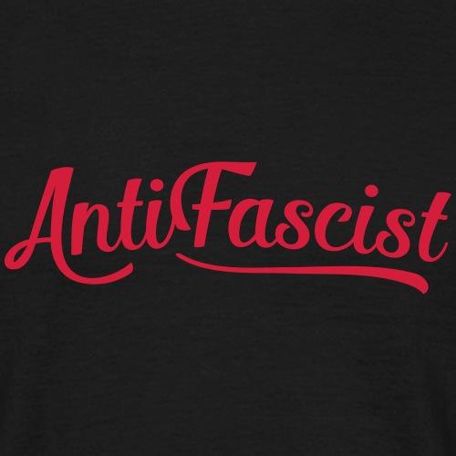 AntiFascist 2 - Männer T-Shirt