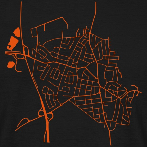 Where the streets have no names! - Männer T-Shirt