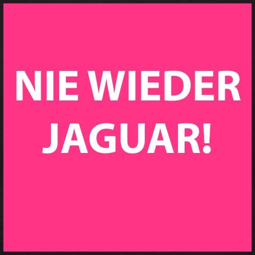 Nie wieder Jaguar Autos - Männer T-Shirt