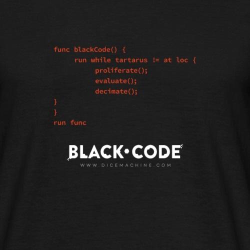 Black Code - THE CODE - Men's T-Shirt