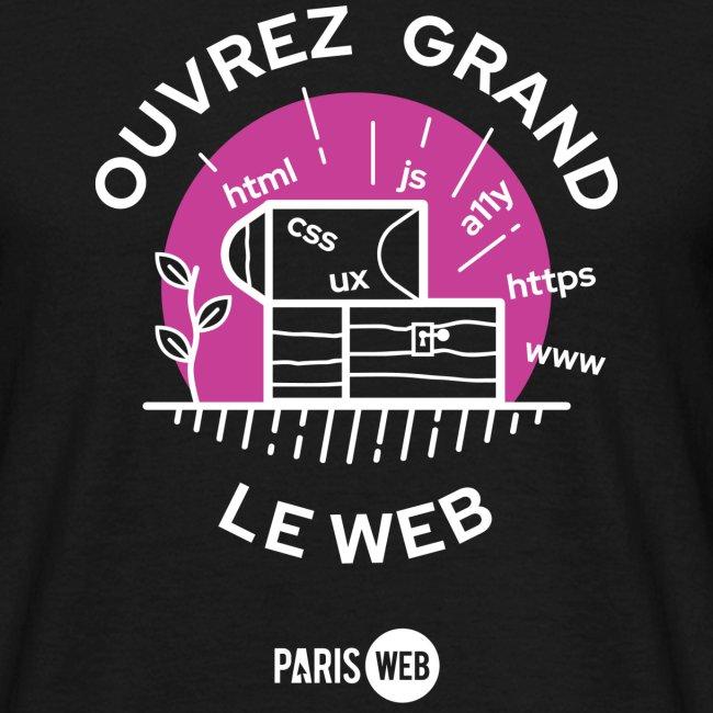 Ouvrez grand le web