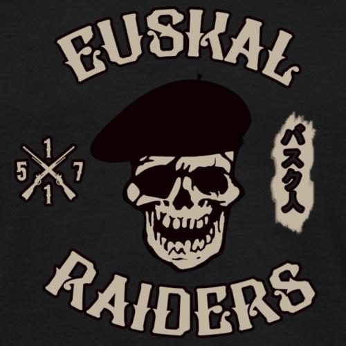 Euskal Raiders - Camiseta hombre