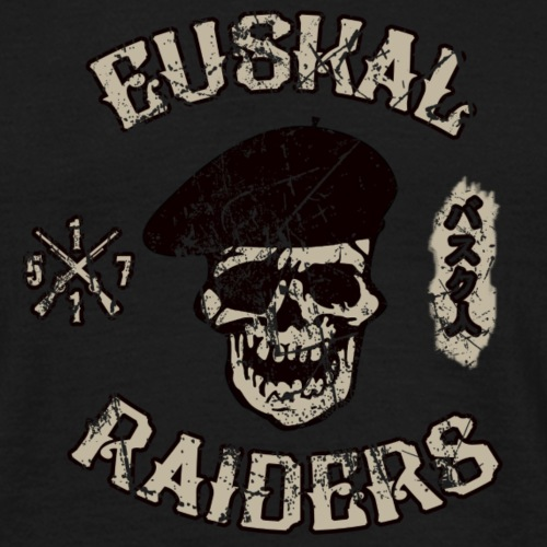 Euskal Raiders Grunge - Camiseta hombre