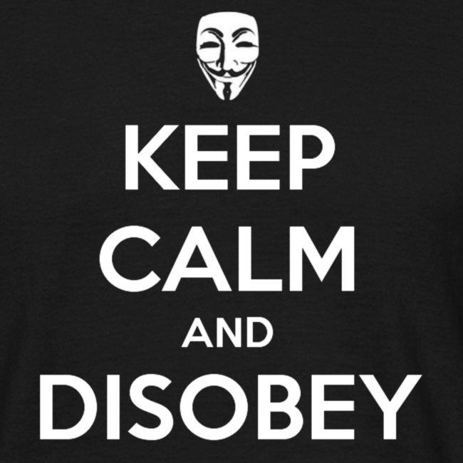 keep calm and disobey bla