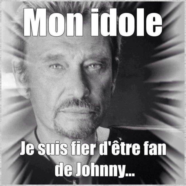 Mon idole Johnny Hallyday
