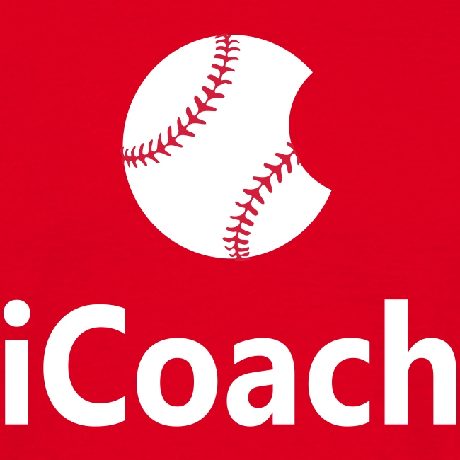 "Baseball Logo ""iCoach"""