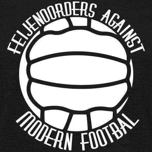against modern football - Mannen T-shirt